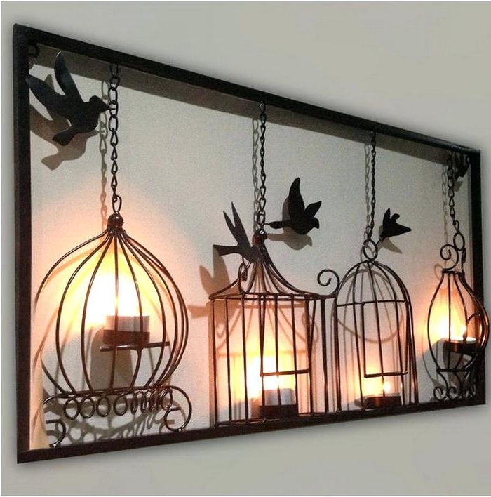 Unique Metal Wall Art Unusual Metal Wall Art Home Decorating Ideas With Famous Unusual Metal Wall Art (View 9 of 15)