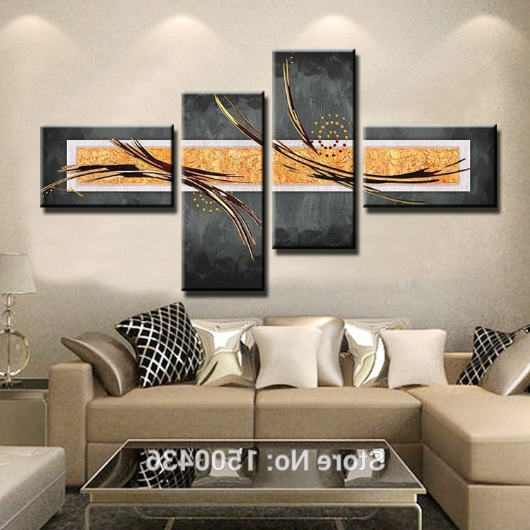 Unique Modern Wall Art And Decor Pertaining To Most Up To Date Modern Art Decor – Psycc (View 11 of 15)