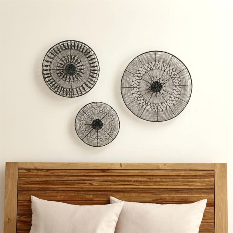 Unusual Metal Wall Art Wall Decor Nice Decorative Metal Disc Art intended for Well-known Unusual Metal Wall Art