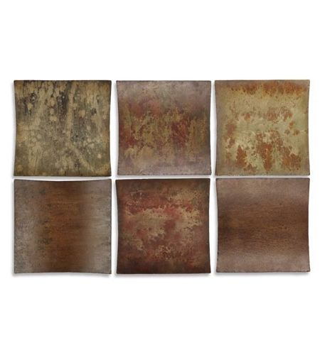 Uttermost Metal Wall Art intended for Well-known Uttermost 13309 Miki Collage 14 X 14 Inch Metal Wall Art