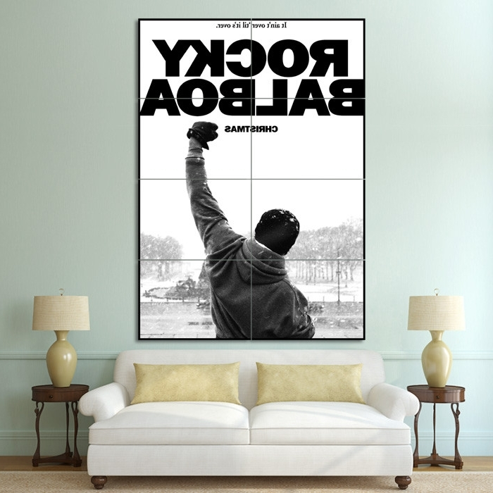 Vakarme with regard to Rocky Balboa Wall Art