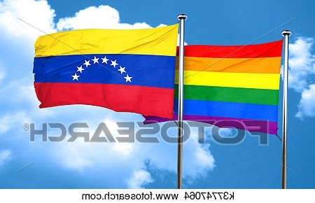 Venezuela Wall Art 3D within Most Recently Released Drawings Of Gay Pride Flag With Venezuela Flag, 3D Rendering