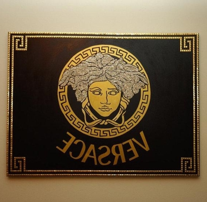 Versace Wall Art Within Most Recent  (View 14 of 15)