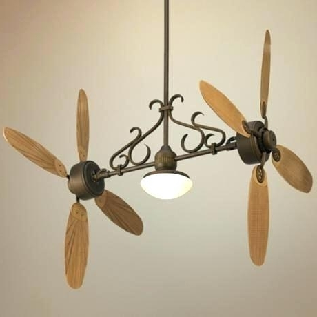 Vertical Ceiling Fan Ceiling Fan Dual Head Outdoor Vertical intended for Trendy Vertical Outdoor Ceiling Fans