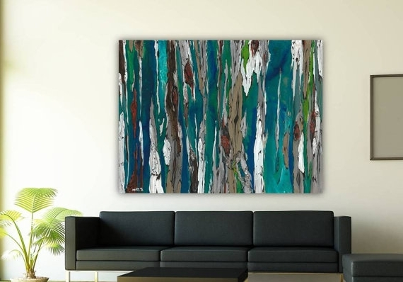 Very Large Wall Art Extra Large Oversized Tealshoagallery in Preferred Huge Wall Art Canvas