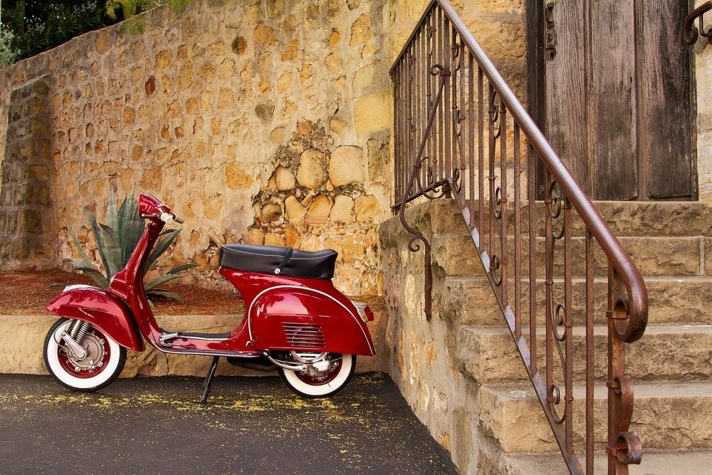 Vespa 3D Wall Art pertaining to Best and Newest Wallpaper Vespa Classic Group Pictures(69+)