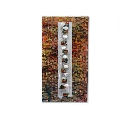 Vibrato – Artisan House (Metal Wall Art Sculpture) – £276.00  Enid With Favorite Artisan House Metal Wall Art (Gallery 10 of 15)