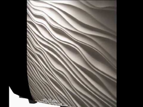 Vidella 3D Wall Art Throughout Fashionable Innovative Accents 3D Wall Panels – Youtube (View 11 of 15)