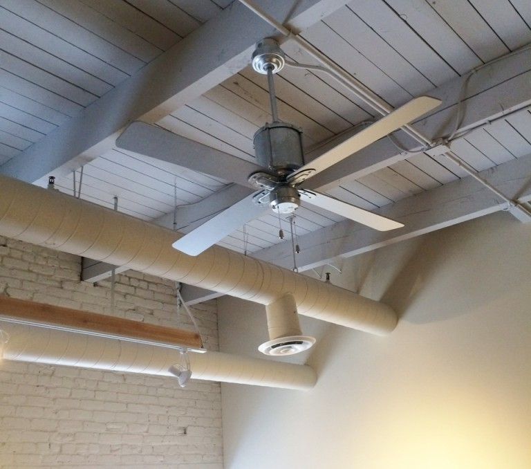 Vintage Ceiling Fans Cool Office Space With Style (View 8 of 15)