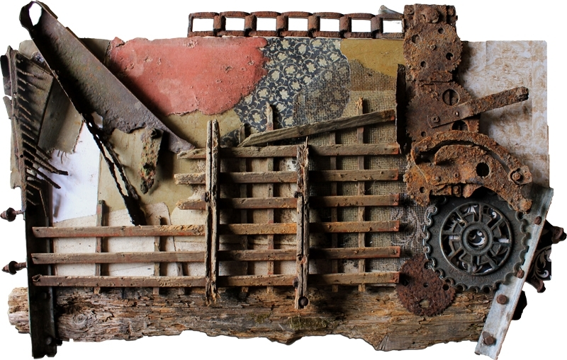 Vintage Industrial Art Gallery: Original One Of A Kind Artwork Made In Well Known Vintage Industrial Wall Art (View 10 of 15)