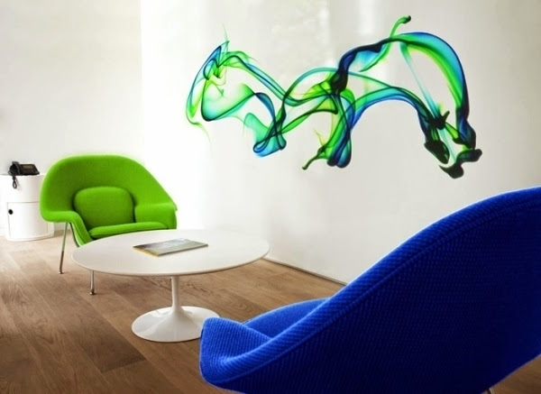Vinyl 3D Wall Art Stickers, Living Room 3D Wall Decor - Interior regarding Most Up-to-Date Vinyl 3D Wall Art