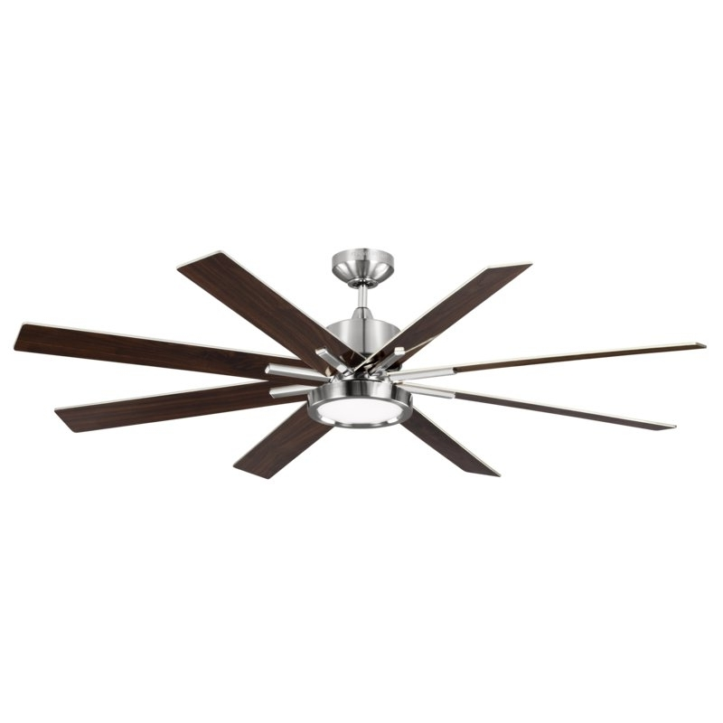 """Wade Logan 60"""" Woodlynne 8 Blade Outdoor Ceiling Fan With Remote In Preferred Outdoor Ceiling Fans With Remote And Light (View 13 of 15)"""