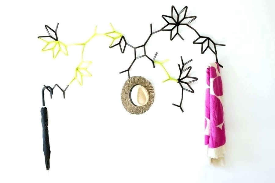 Wall Art Coat Hooks For Most Current Wall Art Coat Hooks Wall Art Coat Hooks Image Source Metal Wall Art (View 4 of 15)