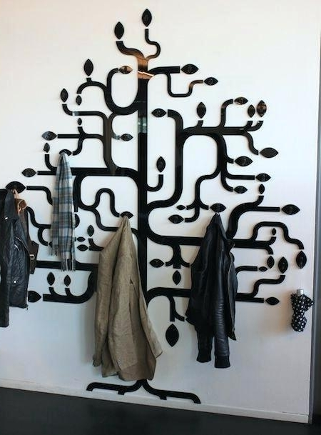 Wall Art Coat Hooks Within Most Current Wall Art Coat Hooks Best Wall Coat Hooks Ideas On Rustic Coat Hooks (View 15 of 15)