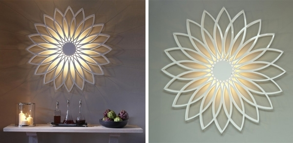 Wall Art Designs: Astounding Wall Art Lights To Decorate Your Regarding Fashionable Wall Art With Lights (View 14 of 15)