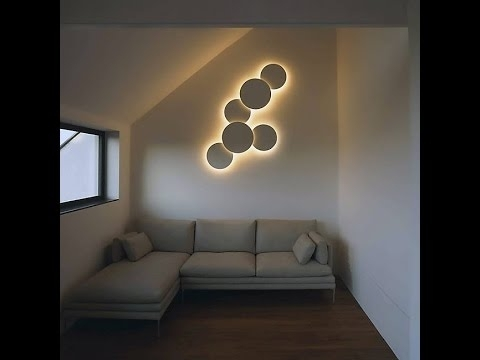 Wall Art Designs: Astounding Wall Art Lights To Decorate Your With Most Current Light Abstract Wall Art (View 6 of 15)