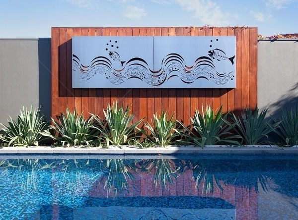 Wall Art Designs: Awesome Outdoor Wall Sculpture Art Decor Outdoor Pertaining To Recent Outdoor Wall Sculpture Art (View 10 of 15)