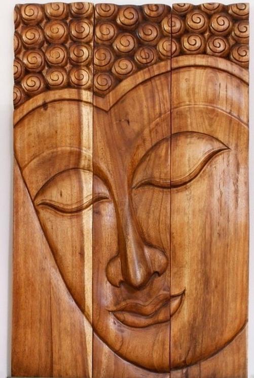 Wall Art Designs Best Buddha Wood Wall Art Wooden Buddha Wall Art With Best And Newest Buddha Wood Wall Art (View 3 of 15)