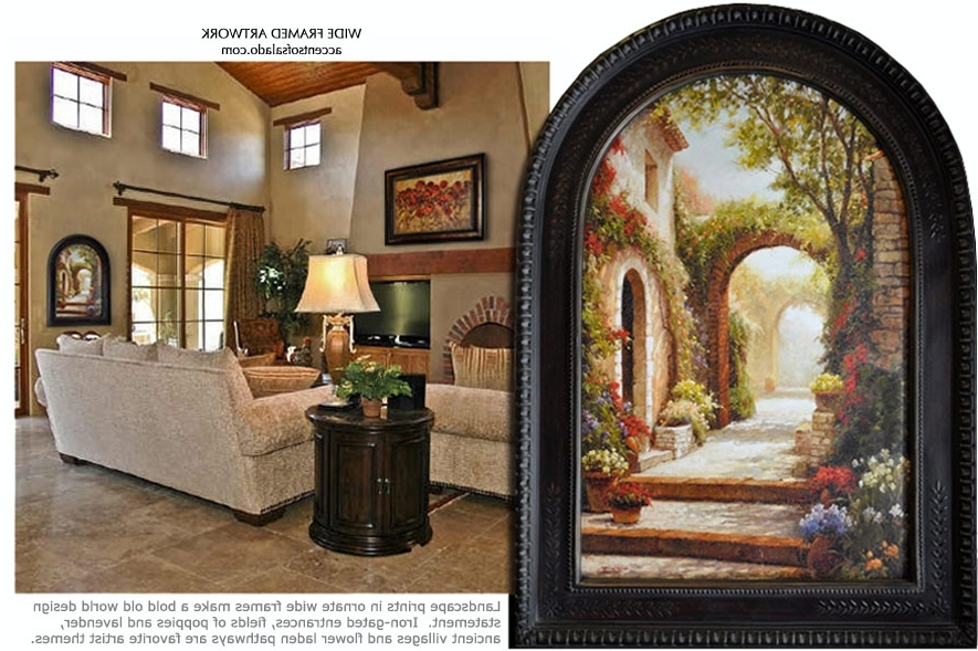 Wall Art Designs: Best Design Tuscan Wall Art Decor With Mixed With Regard To 2017 Tuscan Wall Art Decor (View 6 of 15)