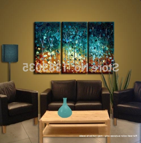Wall Art Designs: Best Paintings 3 Piece Canvas Wall Art Sets For Regarding Recent Canvas Wall Art 3 Piece Sets (View 12 of 15)