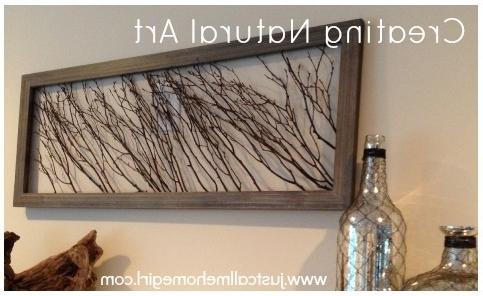 Wall Art Designs: Modern Natural Wall Art Decor Framed Nature Wall For Latest Dark Wood Wall Art (View 13 of 15)