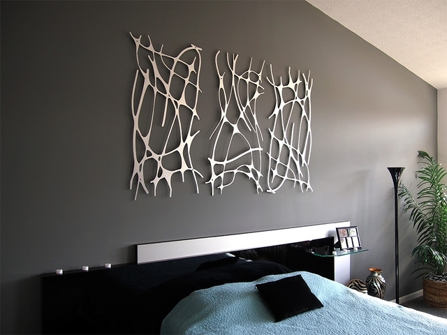 Wall Art For Bedrooms In Trendy Wall Art 2 – Modern – Bedroom – Indianapolis  Moda Industria (View 14 of 15)