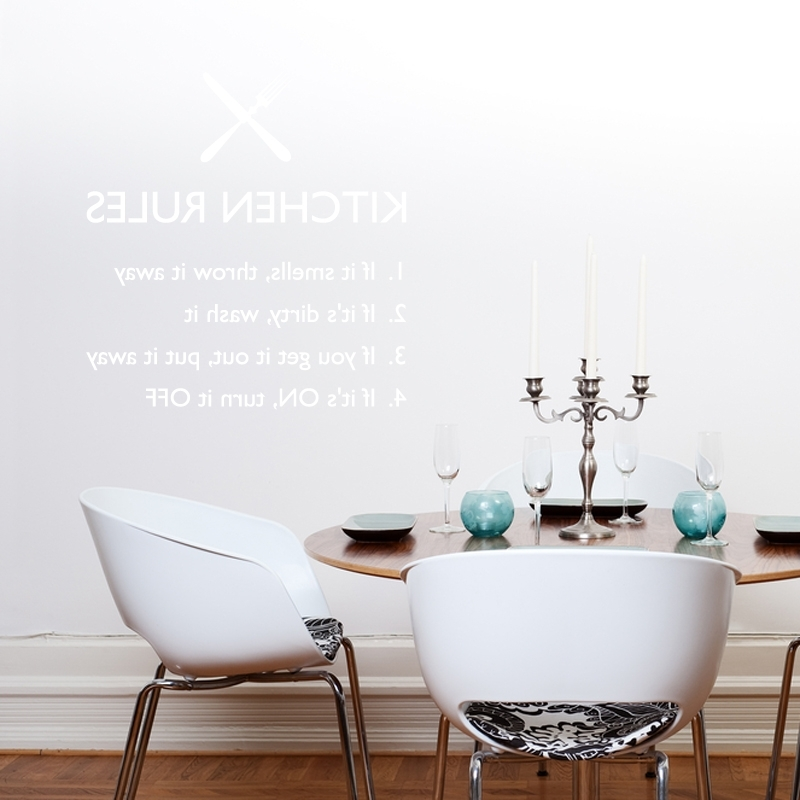 Wall Art For Kitchens Regarding Well Known Bon Appetit Cool Kitchen Wall Art Stickers – Home Design And Wall (View 5 of 15)