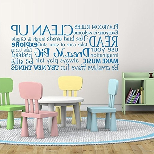 Wall Art For Playroom With Famous Sofa (View 11 of 15)
