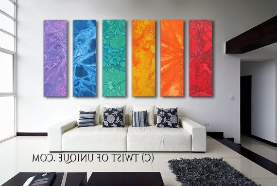 Wall Art Ideas Design : Adorable Colorful Huge Abstract Wall Art Throughout Most Recently Released Oversized Abstract Wall Art (View 15 of 15)