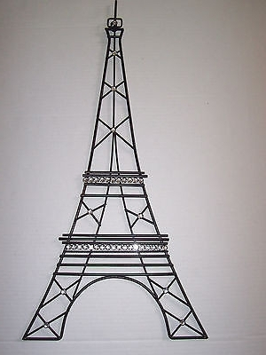 Wall Art Ideas Design Concepts Stickers Eiffel Tower Metal Inside Well Known Eiffel Tower Metal Wall Art (View 13 of 15)