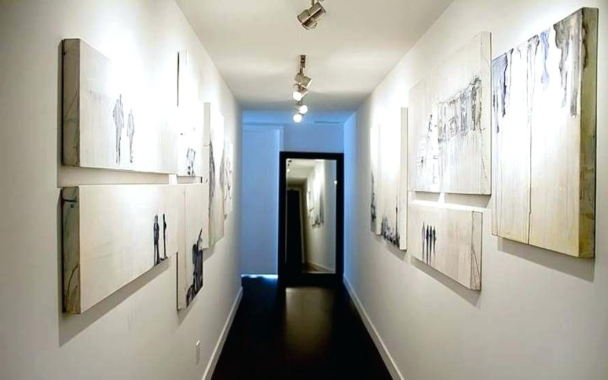 Wall Art Ideas For Hallways With Favorite Wall Art Ideas For Hallways Canvas Hallway Wall Art Ideas With Track (View 12 of 15)