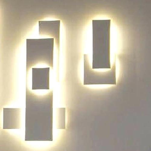 Wall Art Lighting Inside Preferred Wall Art Light Fixtures Decoration How To Arrange Perfect Lighting (View 10 of 15)