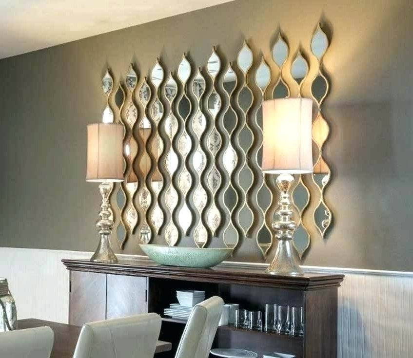 Wall Art Mirrored Wall Art Mirror Abstract Art Mirrors For Walls In Pertaining To Well Known Modern Mirrored Wall Art (View 14 of 15)