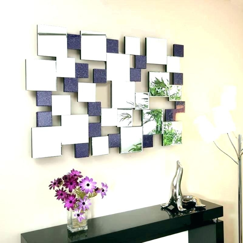Wall Art Mirrors Contemporary Inside Most Recent Contemporary Wall Mirrors Decorative Wall Mirrors Wall Mirrors (View 11 of 15)