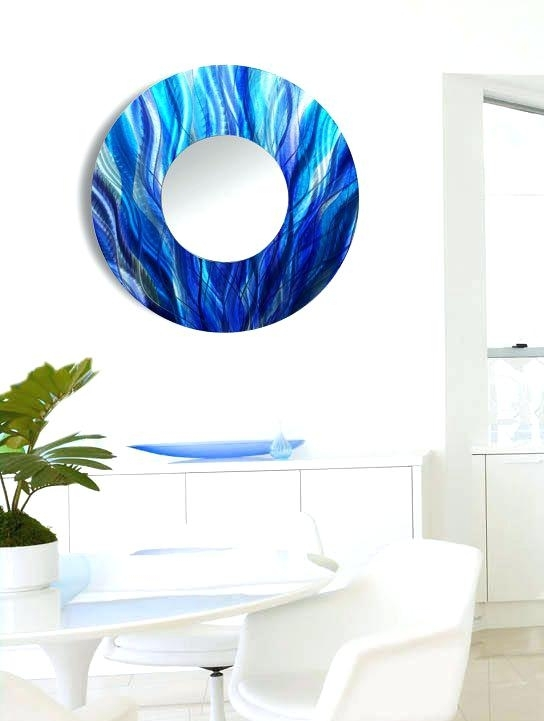 Wall Art Mirrors Modern Modern Decorative Wall Mirrors Contemporary In Most Recent Wall Art Mirrors Contemporary (View 14 of 15)
