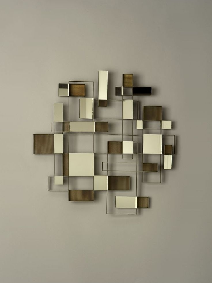 Wall Art Mirrors Modern (View 9 of 15)
