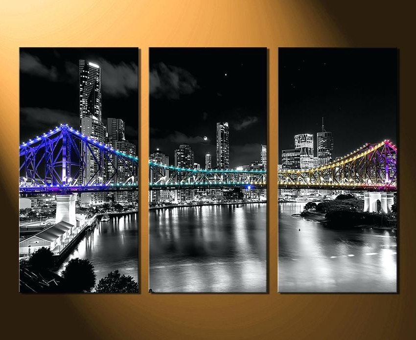 Wall Art Multiple Pieces Intended For Most Popular Multi Piece Canvas Wall Art Multi Canvas Art Multiple Piece Canvas (View 6 of 15)