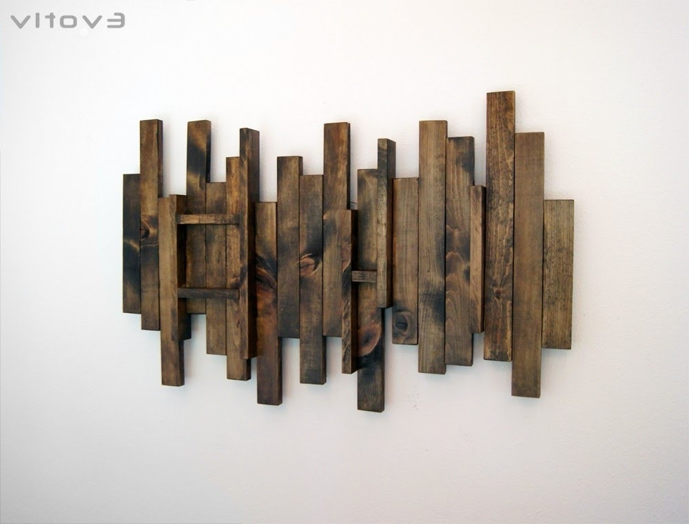 Wall Art On Wood Regarding Most Recently Released Wood Wall Art – Contemporary Wood Wall Art – Youtube (View 5 of 15)