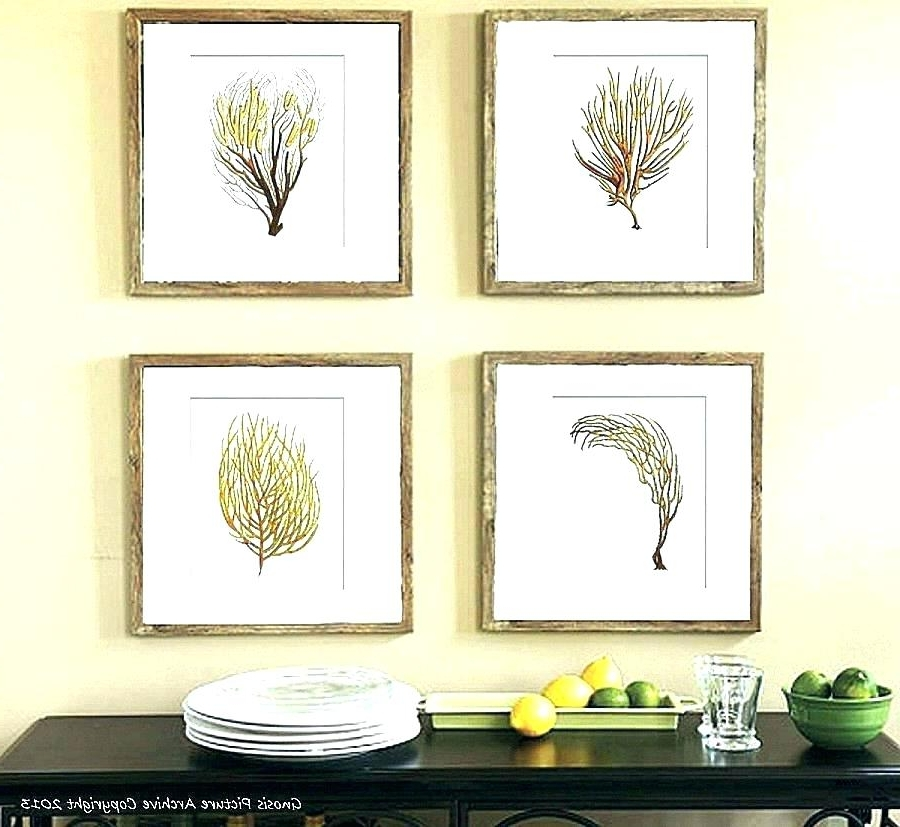 Wall Art Print Sets Within Well Known Botanical Print Sets Framed Picture Sets Framed Botanical Prints Set (View 14 of 15)
