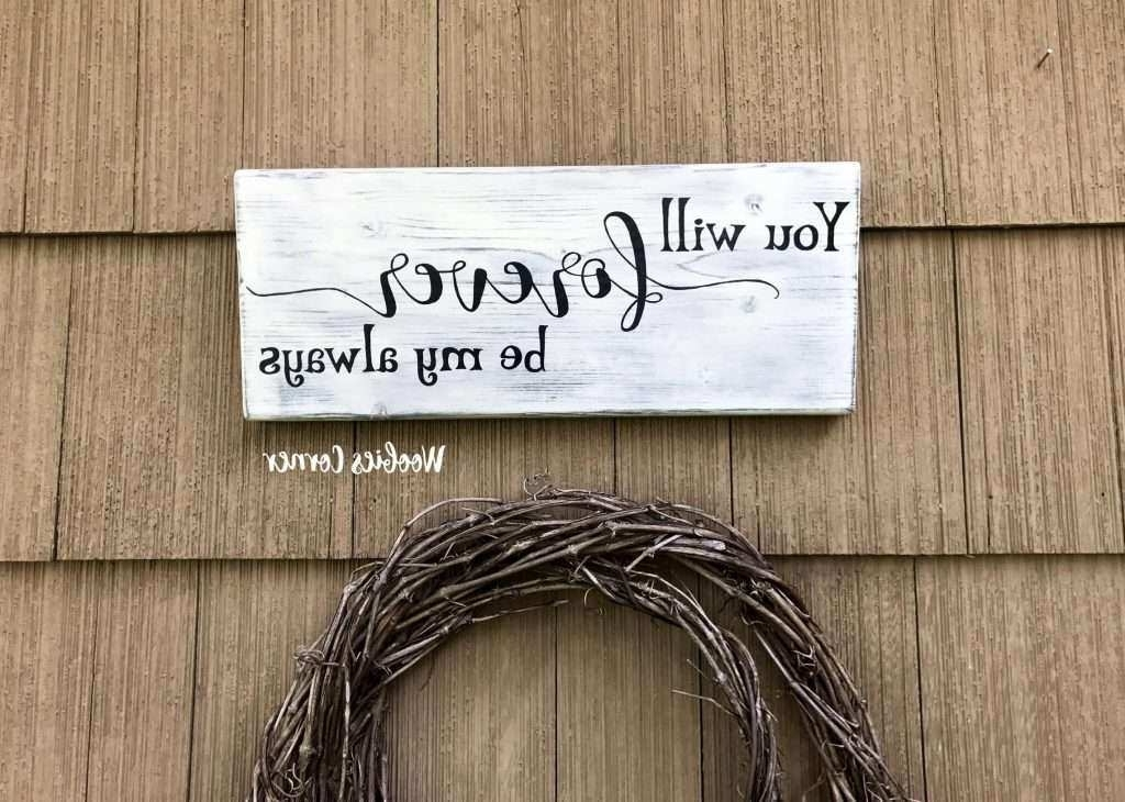 Wall Art Sayings On Wood Luxury 20 Collection Of Inspirational Wall In Trendy Inspirational Wall Plaques (View 12 of 15)
