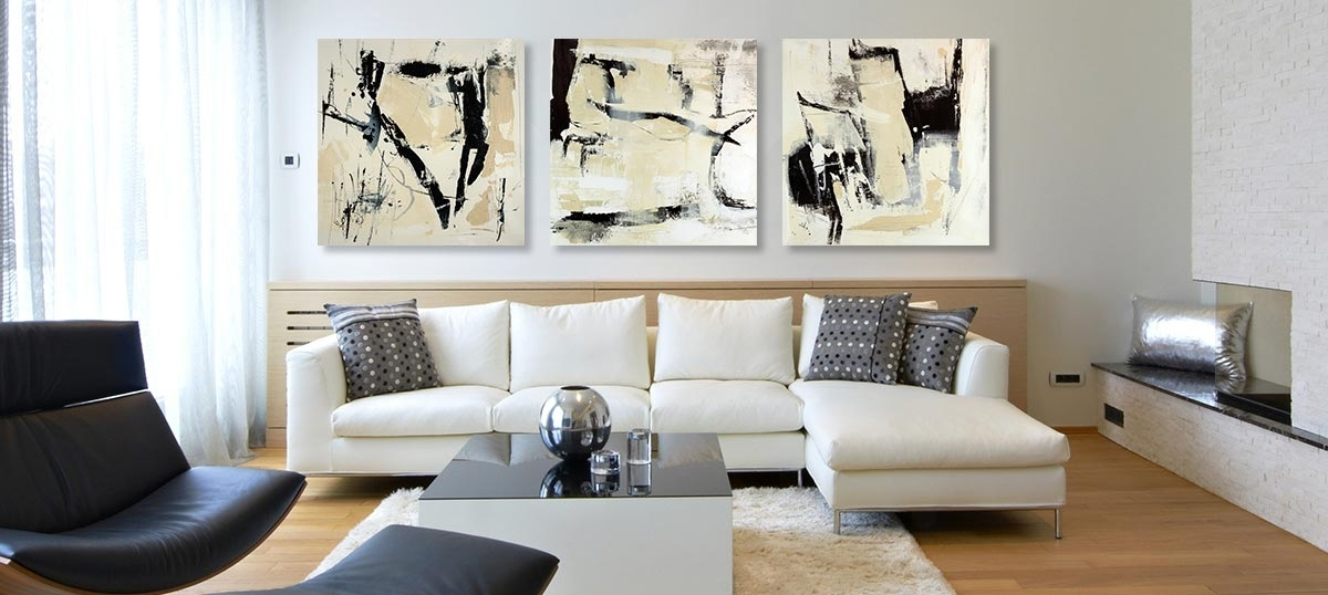 Wall Art Sets For Living Room regarding Widely used Art Sets Canvas Wall Art