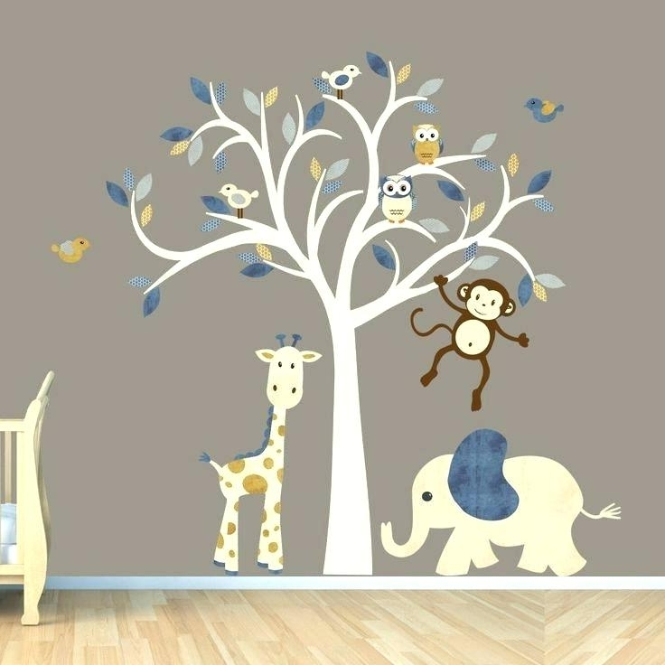Wall Art Stickers For Childrens Rooms Within Most Recent Wall Stickers For Boy Room Truck Decal Construction Wall Decal (View 15 of 15)