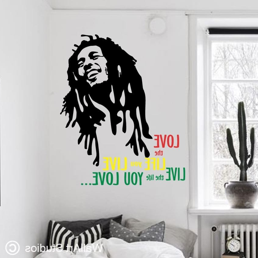 Wall Art Studios Inside Bob Marley Wall Art (View 3 of 15)