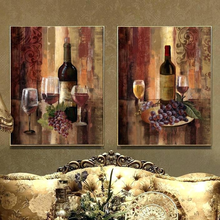 Wall Art Wine Theme Wall Art Wine Kitchen Metal Wall Art Wine Theme Inside Most Current Wine Theme Wall Art (View 7 of 15)