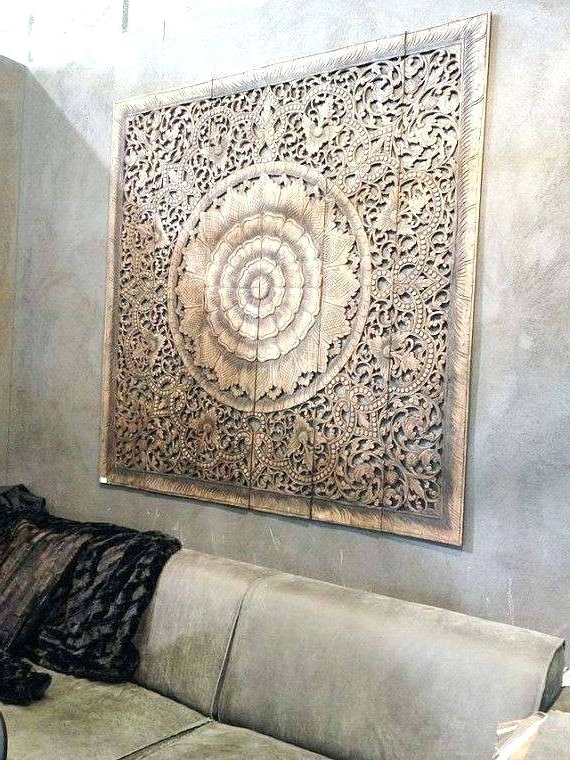 Wall Carved Carved Wood Wall Art Panels Fresh Wall Decor Carved Wood For Latest Wooden Wall Art Panels (View 7 of 15)