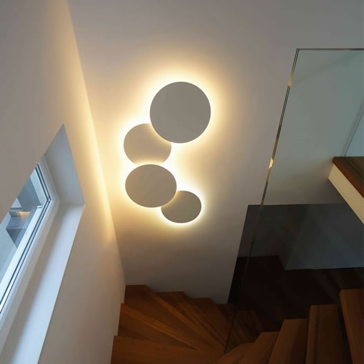 Wall & Ceiling Lights Regarding Well Known Wall Art Lighting (View 8 of 15)