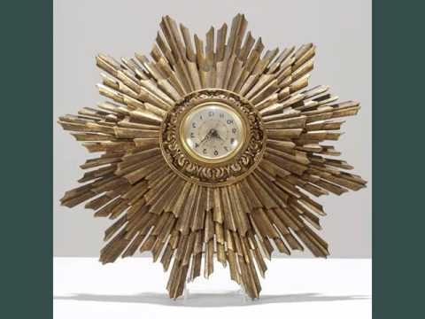 Wall Clocks Art Deco Collection – Youtube Pertaining To Widely Used Art Deco Wall Clocks (View 14 of 15)