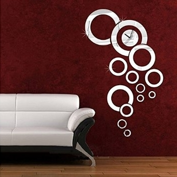 Wall Decal: Good Look Round Wall Decals Round Wood Wall Decor Regarding Popular 3D Circle Wall Art (View 10 of 15)