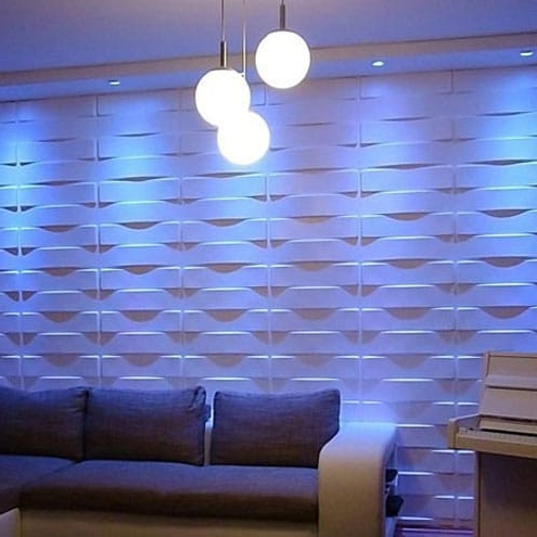 Wall Decor Inspiration Inside 3D Wall Covering Panels (View 11 of 15)