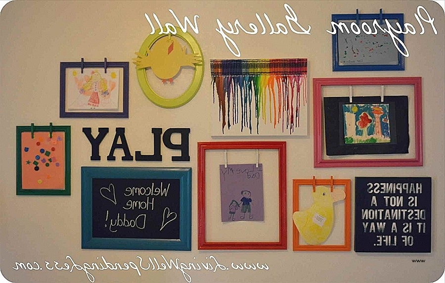 Wall Decor Kids Playroom Elegant Art Ideas For – Narinfoto Intended For Favorite Wall Art For Playroom (View 14 of 15)